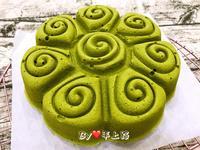 日式若竹抹茶棉花蛋糕(10吋花模)