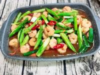 蘆筍炒蝦仁--快手十分鐘(水波爐料理)