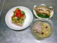 鮮食🐾三色蛋 蔬菜烤鯖魚 山藥雞湯