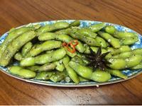 炒毛豆(下酒菜解饞)