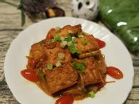 洋蔥小蕃茄燒豆腐