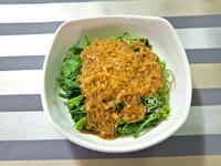 涼拌龍鬚菜佐金針菇醬