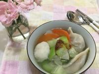 絲瓜水餃湯