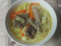 家常蔬菜湯麵