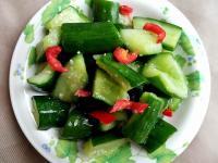 涼拌小黃瓜〞阿基師的快速入味法