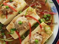 【三高族群清淡食譜】清蒸豆腐鑲肉