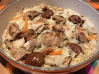 【寶寶食譜】高麗菜雞肉炊飯