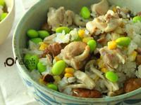 【三高族群清淡食譜】日式雞肉炊飯
