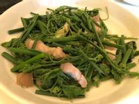 安媽上菜🍲龍鬚菜炒三層肉