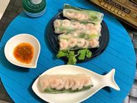 冷水蝦越南春捲