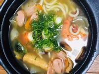 日式蔬菜海鮮鍋燒烏龍麵