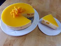芒果慕斯蛋糕(免烤箱)