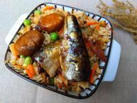 日式照燒沙丁魚栗子炊飯