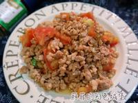 香草(炒)蕃茄肉末~幼幼版開胃料理