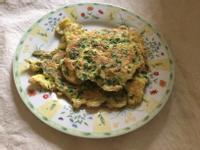 韭菜蝦皮煎蛋