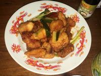 (超簡單料理)鯛魚片糖醋魚