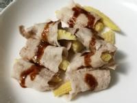 無廚藝玉米筍蒜泥白肉卷 低碳廚房