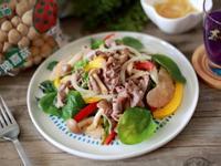葡萄柚菇菇牛肉沙拉