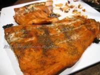 下酒菜─快速煙燻鮭魚