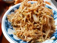 蒜炒豆芽菜