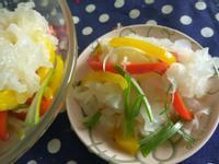 夏日小菜同樂會─涼拌酸甜彩虹香水銀耳