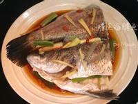 清蒸海鱸魚