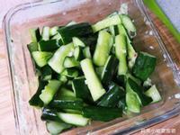 自製涼拌小黃瓜.清爽的夏季開胃菜/小菜