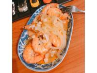 洋蔥奶油蒜蒜蝦
