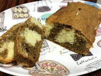 咖啡大理石磅蛋糕