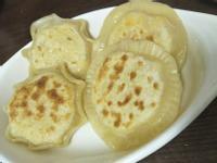 起司玉米煎餅,用剩水餃皮做