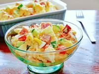 馬鈴薯蘋果火腿蛋沙拉