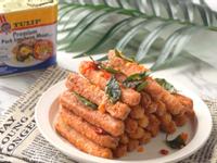 鹹蛋黃午餐肉脆條(影音食譜)