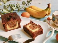 微笑香蕉蛋糕-手繪食譜