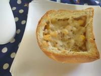 十分鐘早餐─起司玉米艇