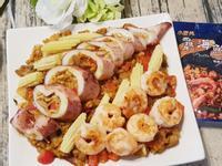 中卷鑲西班牙海鮮燉飯