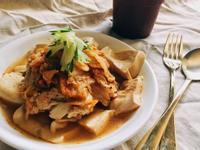 韓式泡菜雞胸肉蒸豆腐
