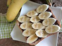 十分鐘早餐─香蕉巧克力厚片