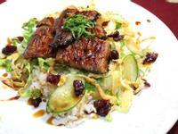 鰻魚沙拉飯