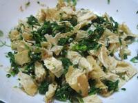 芹菜豆包炒