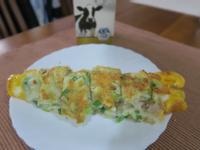 古早味蛋餅 鮪魚+鮮奶