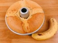香蕉蜂蜜戚風蛋糕