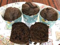 巧克力馬芬(一步完成,朱古力蛋糕)