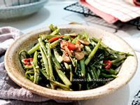 泰式經典蝦醬空心菜