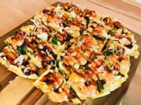 好上手:日式醬燒蝦蝦高麗菜大阪燒
