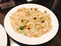 鮭魚鮮蔬燉飯