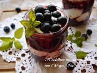 藍莓馬斯卡彭甜點杯