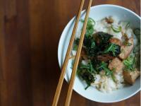 鰹魚時雨煮拌飯(はてなの飯)