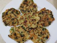 寶寶版蛤蠣蔬菜米飯煎餅