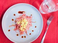 零技巧零廚藝的下酒菜-起司生火腿拼盤