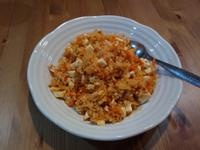 茄汁奧勒岡豆腐炒飯